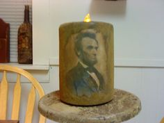 Honest Abe Flicker candle