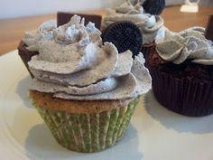 Cupcakes de Oreo. Oreo Cupcakes