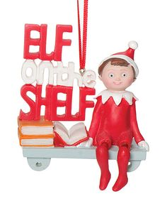 'Elf on the Shelf' Ornament