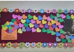 Visual result of middle school classroom board samples - Valentinstag ideen Board Decoration, Class Decoration, School Decorations, Valentine Decorations, Classroom Board, Middle School Classroom, Classroom Displays, Classroom Decor, Diy And Crafts
