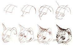 как нарисовать кошку: 21 тыс изображений найдено в Яндекс.Картинках