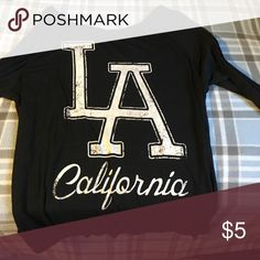 LA California half sleeves 55% cotton/45% polyester Fifth Sun Tops Tees - Short Sleeve