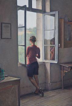 Reflecting - Alex Russell Flint