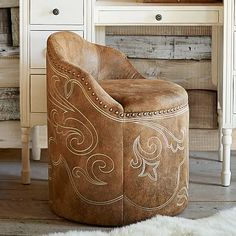 Beatrice Swivel Vanity Stool | 1350 HIGHLAND OAKS FURNITURE ...