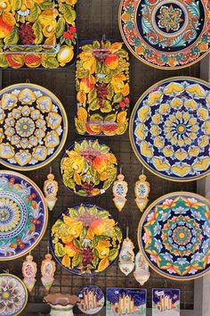 pottery in orvieto, italy