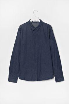 COS chambray shirt