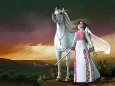 Palestanian With White Horse Painting by Imad Abu shtayyah Modern Art Paintings, Indian Paintings, Beautiful Paintings, Palestine History, Palestine Art, Middle Eastern Art, Anime Muslim, Palestinian Embroidery, Arabic Art
