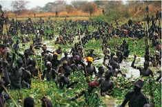 The Dinka people of Sudan - photos by Carol Beckwith and Angela Fisher