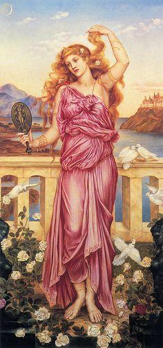 "Evelyn de Morgan (1855–1919), ""Helen of Troy"" by sofi01, via Flickr"