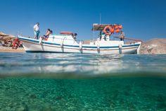 Agrari beach,  island of Mykonos