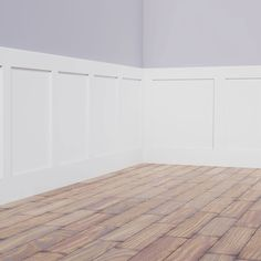 Ekena Millwork Height with Wide Adjustable Wall Panels, Deluxe Shaker PVC Wainscoting Kit, (for Heights Up to Wainscoting Kits, Dining Room Wainscoting, Wainscoting Styles, Waynes Coating Dining Room, Waynes Coating Bathroom, Diy Waynes Coating, Wall Trim, Cool Walls, Home Projects