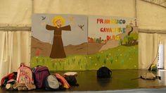 fondale per recita san francesco