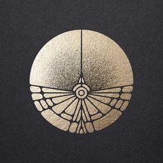 New Geometric Art Design Logos Ideas Motifs Art Nouveau, Azulejos Art Nouveau, Motif Art Deco, Art Deco Pattern, Logo D'art, Art Logo, Ink Tatoo, Tattoo Bird, Tattoo Linework