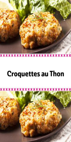 Croquettes au Thon – Rebel Without Applause Parmesan Roasted Potatoes, One Pot Pasta, Bratwurst, Cordon Bleu, Meal Planner, Party Snacks, Salmon Burgers, Finger Foods, Baked Potato