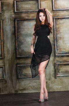 Ju Da Ha – Hot See Through Dress
