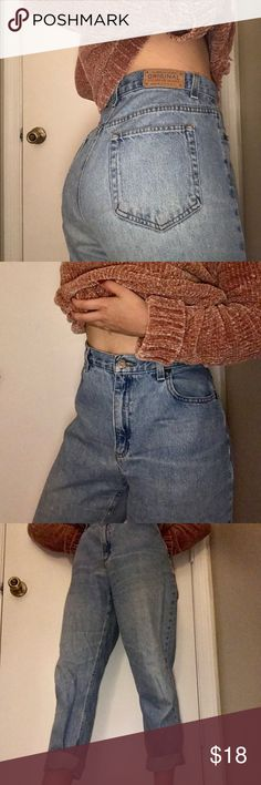 Vintage jeans High waisted, light wash jeans, petite so it fits shorter girls best ( ankle jeans for my tall girls), Liz Clairborne. Size: 12 Jeans