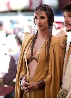 Indira Varma as Ellaria Sand in Game of Thrones (TV Series, 2014).