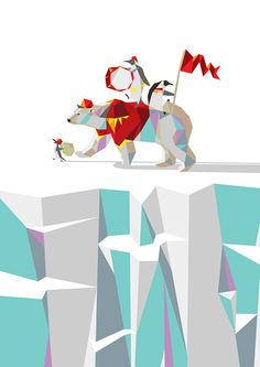 Private Penguin's Polar Percussion - Liam Brazier Illustration & Animation