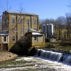 Weisenberger Mills and Related Buildings in Woodford County, Kentucky.