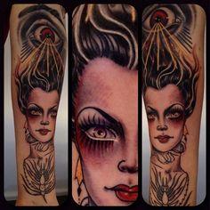 Tattoo by Rose Hardy (in progress)