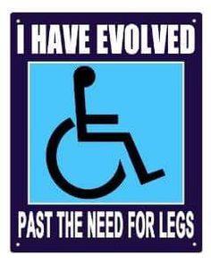 Evolved past legs wheelchair