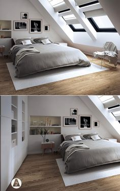 25 Amazing Attic Bedrooms That You Would Absolutely Enjoy...