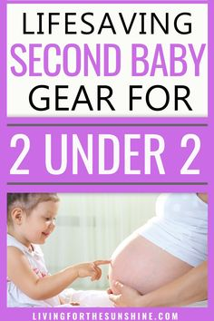 Are you preparing for your #secondbaby? These life-saving second baby item will make having #2under2 so much easier! #secondchild #pregnant #pregnancy Second Baby, 2nd Baby, New Parent Advice, Mom Advice, Baby Tech, Baby On A Budget, Toddler Schedule, Baby Hacks, Mom Hacks