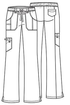 Dickies Medical 82011 Pantalon Acampanado con Jareta para Mujer - BODEGA DE UNIFORMES DICKIES | CHEROKEE | IGUANAMED | HEART SOUL | CODE HAPPY | SLOGGERS | ANYWEAR