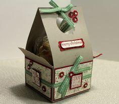 Cookie box - scalloped envelope.