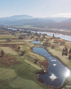 Rivershore golf course was designed by legendary architect Robert Trent Jones Sr., this par 72 course stretches seamlessly over a riverside landscape. Sports Training, Stretches, Golf Courses, Landscaping, Layout, River, Outdoor, Style, Outdoors
