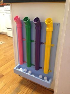 Fun! I'd put this outside or in a play/family room. When the kids are in the kitchen with you find a way fir them to help if possible