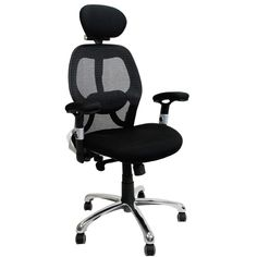 ERGO Luxury Mesh Back Executive Chair   Black | With A Host Of Ergonomic  Adjustments For