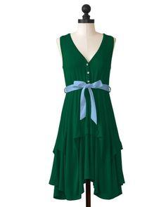 Tulane Green Wave | Team Flirty Dress | meesh & mia