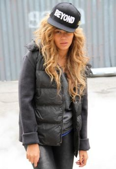 Civil Clothing Beyond Snapback Hat in Black - as seen on Beyonce  $40