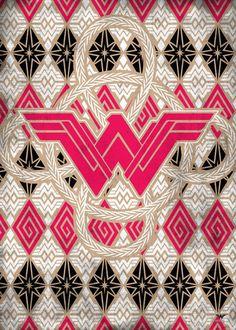 Premium quality metal prints from Wonder Woman designed by PopCulArt . Wonder Woman Comic, Wonder Woman Logo, Wonder Women, Hero Wallpaper, Iphone Wallpaper, Victorious, Nerd, Arte Dc Comics, Hope Symbol