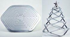 Новогодние ёлки в стиле хай-тек и модерн - Ярмарка Мастеров - ручная работа, handmade