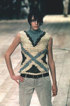 Alexander McQueen SS 1999 find more women fashion ideas on www.misspool.com
