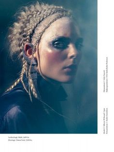 Hair Stylist Marianne JENSEN  Magazine NOTE