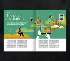 On Windows magazine cover on Behance