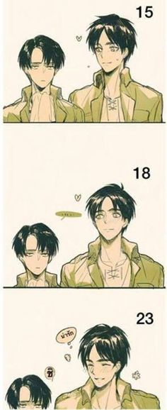 Oh well this ain't right cause Eren is 19 now and doesn't look like this at all