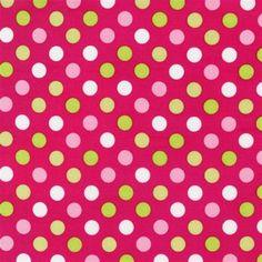 Robert Kaufman Spot On Bright - TJ's Fabrics