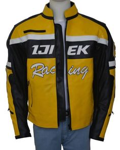 It's the game of Death but you have the Check Greene Jacket to protect you that is inspired by the Dead Rising 2 Video Game for everyone. Grab Now! Yellow Leather, Real Leather, Dead Rising 2, Game Of Death, Christmas Sale, Motorcycle Jacket, Sale Sale, Shop Now, Leather Jacket