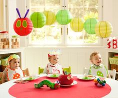 Ideas from pottery barn kids very-hungry-caterpillar-party