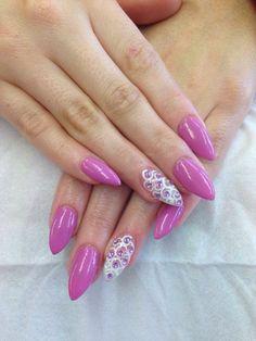 Violet with diamonds