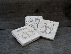 Rustic Wedding Magnet Favors Wedding by LittleZebrasBoutique, $12.25