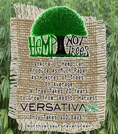 Hemp Not Trees via Versativa