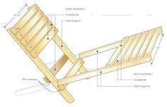 とても簡単な構造です。一度試してみてはいかがでしょうか?アウトドアの季節活躍すること間違いなしですね!via :https://www.canadianwoodworking.com/plans-projects/folding-chair?utm_s...