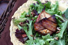 Rainbow Gospel Radio   Roasted Bacon-Wrapped Pear Salad with Vinaigrette