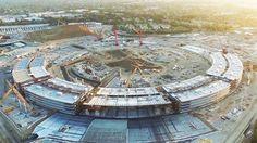 Appleが建設中の近未来型新社屋「Apple Campus 2」をドローンで撮影したムービー - GIGAZINE