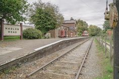 https://flic.kr/p/J1fY6Q | Lost in time | Hadlow Road station is one of my favourite places on the Wirral. Hadlow Road railway station closed to passengers on 17 September 1956. The track continued to be used for freight transportation and driver training for another six years, closing on 7 May 1962. The route became the Wirral Way footpath and part of Wirral Country Park in 1973. It now stands as it looked in the 1950's :)